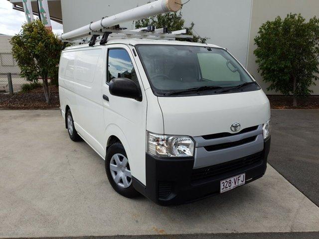 Used Toyota Hiace KDH201R MY14 LWB, 2014 Toyota Hiace KDH201R MY14 LWB White 5 Speed Manual Van