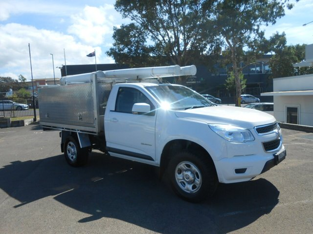Used Holden Colorado RG MY16 LS Crew Cab 4x2, 2015 Holden Colorado RG MY16 LS Crew Cab 4x2 White 6 Speed Manual Cab Chassis