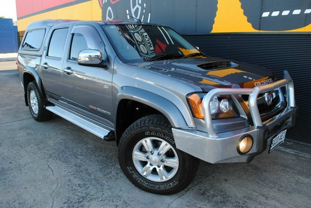 Used Holden Colorado RC MY09 LT-R Crew Cab, 2009 Holden Colorado RC MY09 LT-R Crew Cab Slate Grey 5 Speed Manual Utility