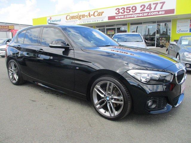 Used BMW 120i F20 LCI M Sport Steptronic, 2016 BMW 120i F20 LCI M Sport Steptronic Black 8 Speed Sports Automatic Hatchback