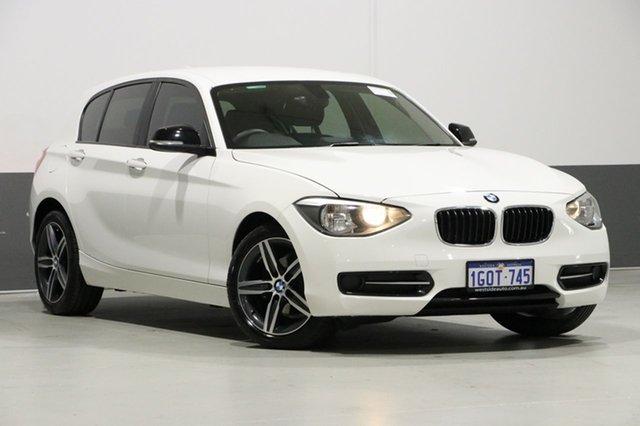 Used BMW 116i F20 Sport Line, 2012 BMW 116i F20 Sport Line White 8 Speed Automatic Hatchback