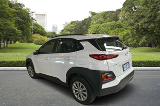 2018 Hyundai Kona OS.2 MY19 Go D-CT AWD Chalk White 7 Speed Sports Automatic Dual Clutch Wagon