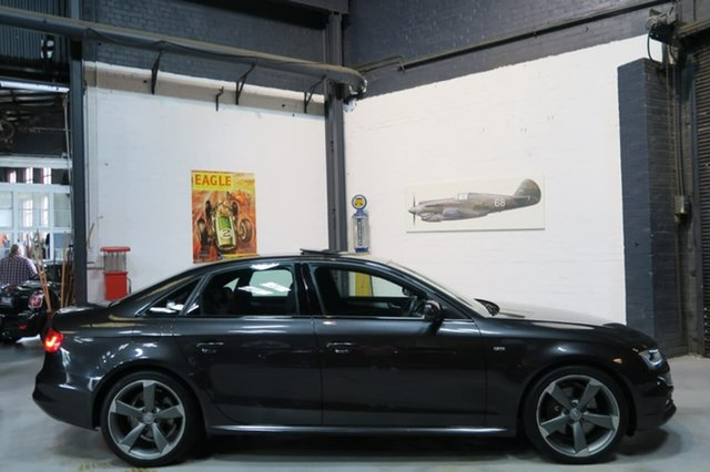 Used Audi A4 B8 8K MY15 S Line S Tronic Quattro, 2014 Audi A4 B8 8K MY15 S Line S Tronic Quattro Grey 7 Speed Sports Automatic Dual Clutch Sedan