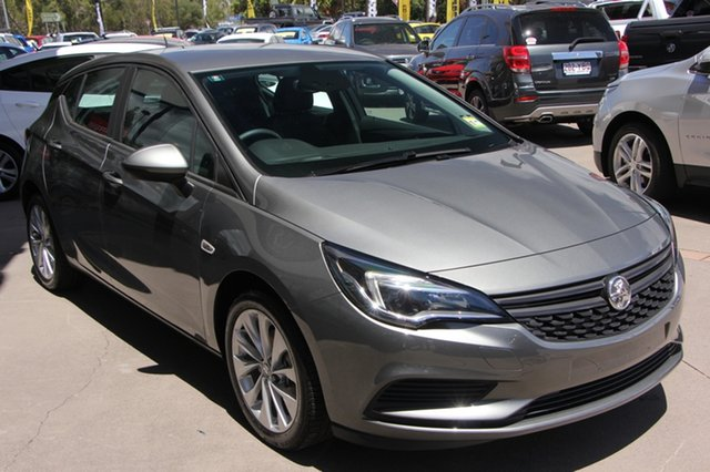 Demo Holden Astra BK MY19 R+, 2018 Holden Astra BK MY19 R+ Cosmic Grey 6 Speed Sports Automatic Hatchback