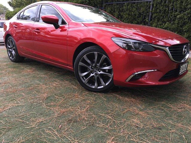 Used Mazda 6 GJ1032 GT SKYACTIV-Drive, 2015 Mazda 6 GJ1032 GT SKYACTIV-Drive Red/Black 6 Speed Sports Automatic Sedan