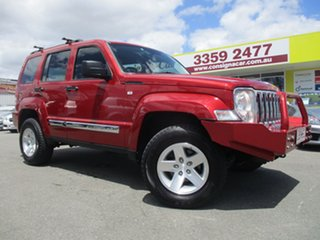 2009 Jeep Cherokee KK MY10 Limited Red 4 Speed Automatic Wagon