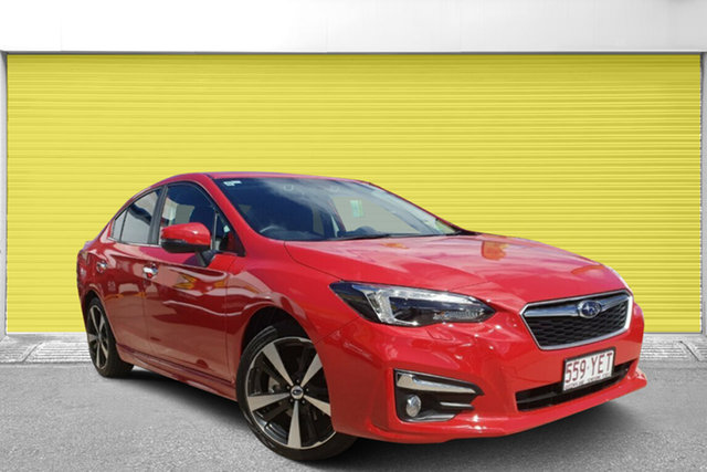 Used Subaru Impreza G5 MY18 2.0i-S CVT AWD, 2018 Subaru Impreza G5 MY18 2.0i-S CVT AWD Pure Red 7 Speed Constant Variable Sedan