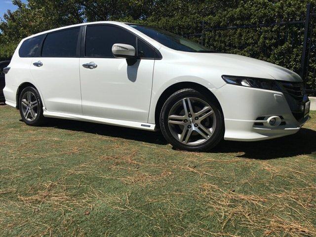 Used Honda Odyssey 4th Gen MY13 Luxury, 2013 Honda Odyssey 4th Gen MY13 Luxury White 5 Speed Sports Automatic Wagon