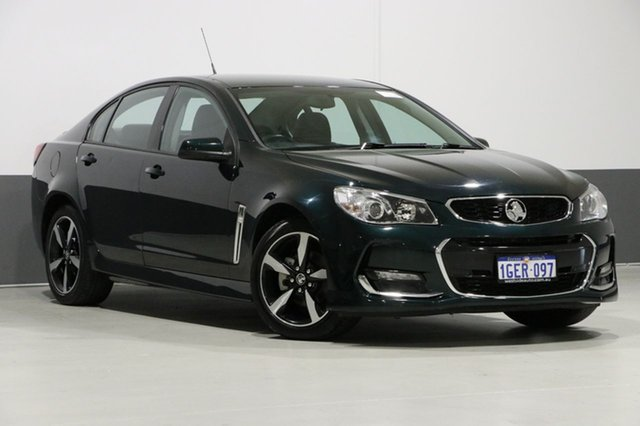 Used Holden Commodore VF II MY17 SV6, 2017 Holden Commodore VF II MY17 SV6 Green 6 Speed Automatic Sedan