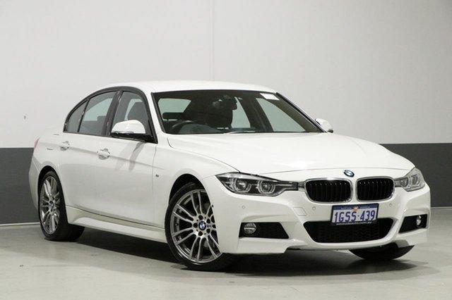 Used BMW 330i F30 LCI M Sport, 2017 BMW 330i F30 LCI M Sport White 8 Speed Automatic Sedan