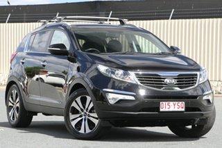 2013 Kia Sportage SL MY13 Platinum Black 6 Speed Sports Automatic Wagon.