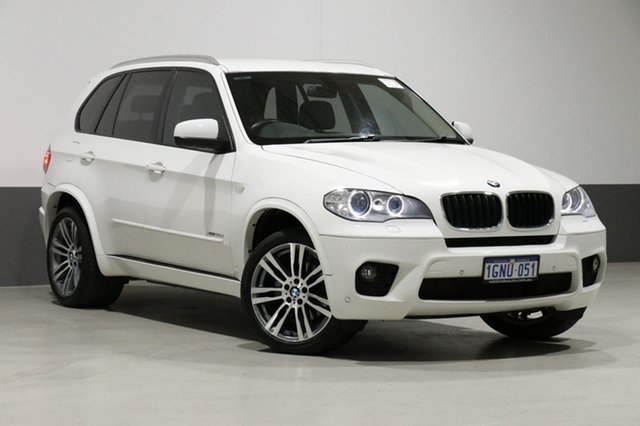 Used BMW X5 E70 MY12 Upgrade xDrive 30D, 2013 BMW X5 E70 MY12 Upgrade xDrive 30D White 8 Speed Automatic Sequential Wagon
