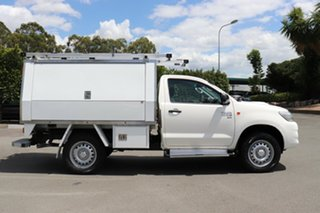 2014 Toyota Hilux KUN26R MY14 SR Glacier 5 Speed Manual Cab Chassis