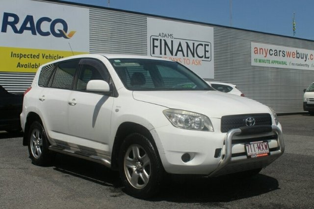 Used Toyota RAV4 ACA33R MY08 CV, 2008 Toyota RAV4 ACA33R MY08 CV White 5 Speed Manual Wagon