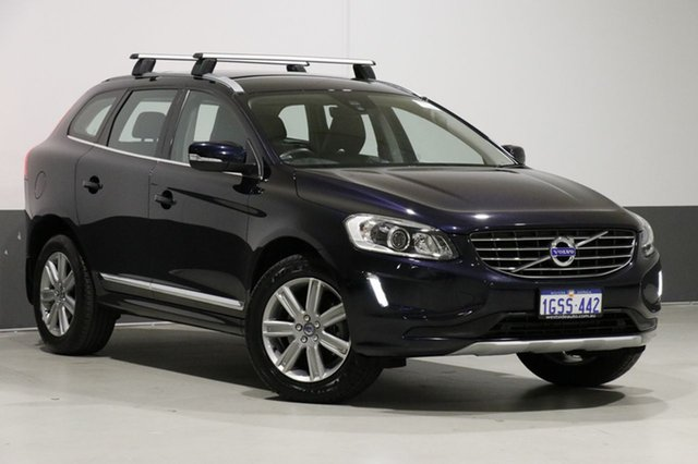 Used Volvo XC60 DZ MY16 D4 Luxury, 2015 Volvo XC60 DZ MY16 D4 Luxury Blue 6 Speed Automatic Wagon
