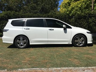 2013 Honda Odyssey 4th Gen MY13 Luxury White 5 Speed Sports Automatic Wagon.