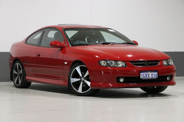 Used Holden Monaro V2 Series 3 CV8-R, 2004 Holden Monaro V2 Series 3 CV8-R Red 4 Speed Automatic Coupe