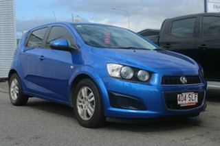 2012 Holden Barina TM MY13 CD Blue 5 Speed Manual Hatchback.