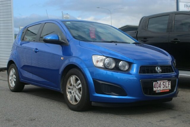 Used Holden Barina TM MY13 CD, 2012 Holden Barina TM MY13 CD Blue 5 Speed Manual Hatchback