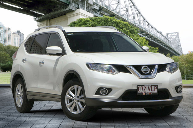 Used Nissan X-Trail T32 ST-L X-tronic 2WD, 2015 Nissan X-Trail T32 ST-L X-tronic 2WD White 7 Speed Constant Variable Wagon