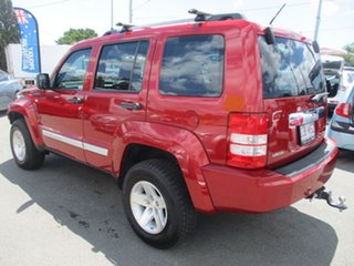 2009 Jeep Cherokee KK MY10 Limited Red 4 Speed Automatic Wagon.