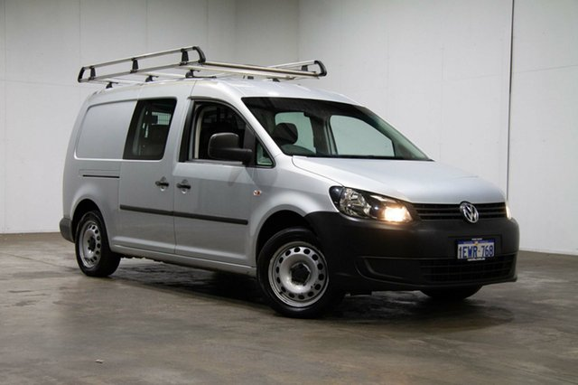 Used Volkswagen Caddy 2KN MY15 TDI250 BlueMOTION Crewvan Maxi DSG, 2015 Volkswagen Caddy 2KN MY15 TDI250 BlueMOTION Crewvan Maxi DSG Silver 7 Speed