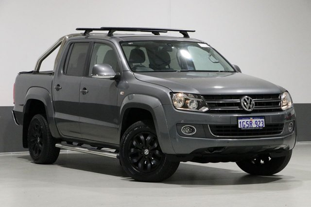 Used Volkswagen Amarok 2H MY14 TDI400 Highline (4x4), 2014 Volkswagen Amarok 2H MY14 TDI400 Highline (4x4) Grey 6 Speed Manual Dual Cab Utility