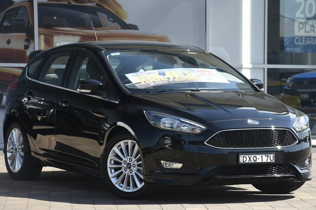 Used Ford Focus LZ Sport, 2018 Ford Focus LZ Sport Black 6 Speed Automatic Hatchback