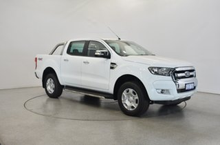 2018 Ford Ranger PX MkII 2018.00MY XLT Double Cab Frozen White 6 Speed Manual Utility.
