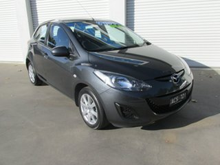 2014 Mazda 2 DE10Y2 MY14 Neo Sport Grey 5 Speed Manual Hatchback.