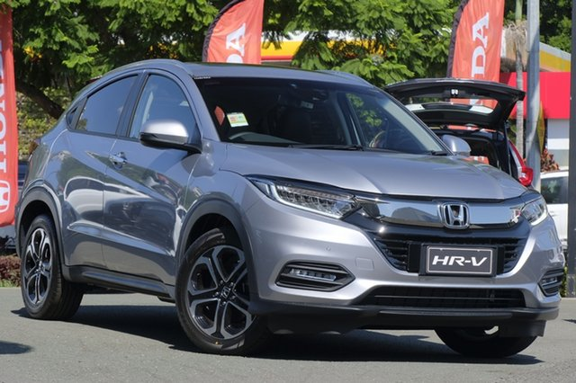 Demo Honda HR-V MY18 VTi-LX, 2018 Honda HR-V MY18 VTi-LX Lunar Silver 1 Speed Constant Variable Hatchback