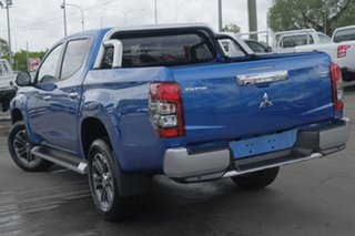 2018 Mitsubishi Triton GLS PREMIUM Impulse Blue 6 Speed Automatic.