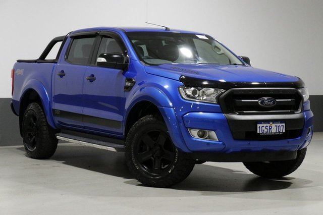 Used Ford Ranger PX Mkii MY17 XLT 3.2 (4x4), 2017 Ford Ranger PX Mkii MY17 XLT 3.2 (4x4) Blue 6 Speed Automatic Dual Cab Utility