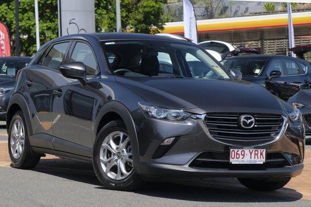 Demo Mazda CX-3 DK4W7A Maxx SKYACTIV-Drive i-ACTIV AWD Sport, 2018 Mazda CX-3 DK4W7A Maxx SKYACTIV-Drive i-ACTIV AWD Sport Machine Grey 6 Speed Sports Automatic