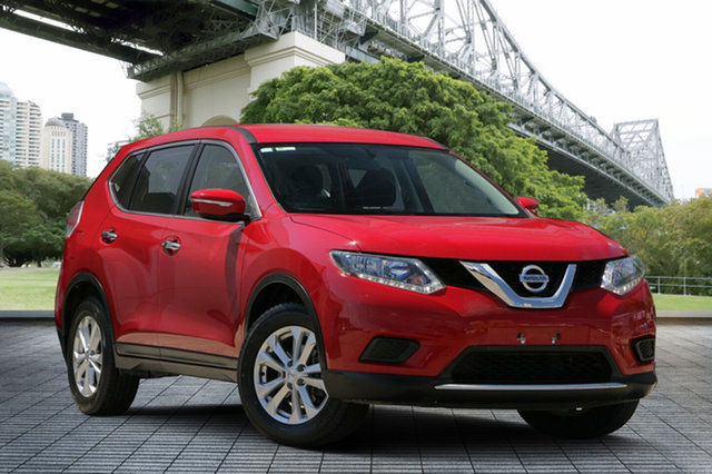 Used Nissan X-Trail T32 ST X-tronic 4WD, 2016 Nissan X-Trail T32 ST X-tronic 4WD Red 7 Speed Constant Variable Wagon