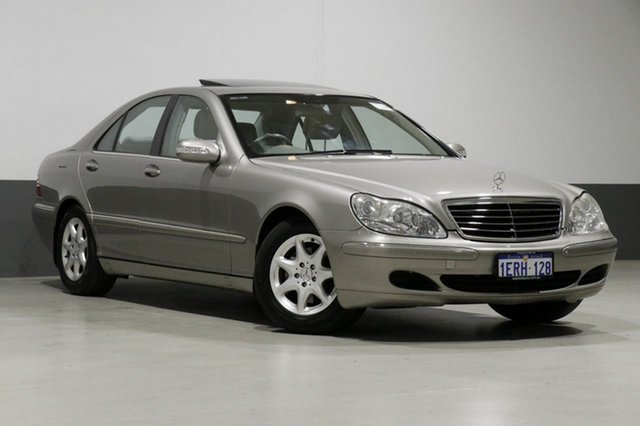 Used Mercedes-Benz S350 W220 , 2003 Mercedes-Benz S350 W220 Silver 5 Speed Auto Touchshift Sedan