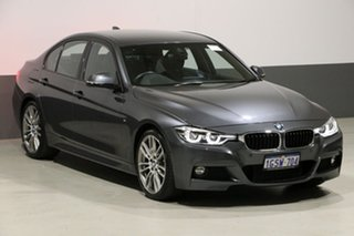 2017 BMW 330i F30 LCI M Sport Grey 8 Speed Automatic Sedan