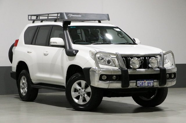 Used Toyota Landcruiser Prado KDJ150R 11 Upgrade GXL (4x4), 2013 Toyota Landcruiser Prado KDJ150R 11 Upgrade GXL (4x4) White 6 Speed Manual Wagon