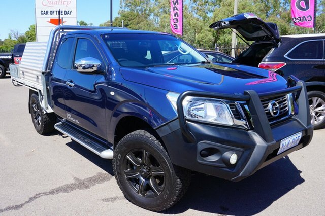 Used Nissan Navara D23 RX King Cab, 2016 Nissan Navara D23 RX King Cab Deep Sapphire 6 Speed Manual Cab Chassis