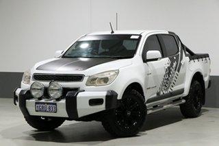 2013 Holden Colorado RG MY14 LX (4x4) White 6 Speed Manual Crew Cab Pickup.