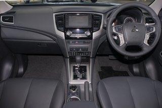 2018 Mitsubishi Triton MR MY19 GLS PREMIUM Impulse Blue 6 Speed Automatic.