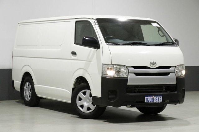 Used Toyota Hiace TRH201R MY14 LWB, 2014 Toyota Hiace TRH201R MY14 LWB White 4 Speed Automatic Van