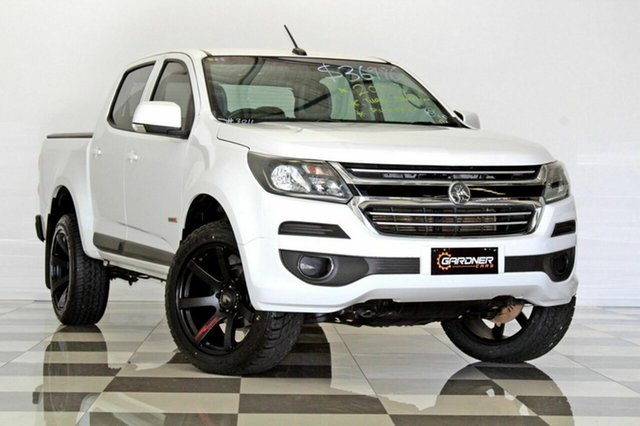 Used Holden Colorado RG MY17 LS (4x2), 2017 Holden Colorado RG MY17 LS (4x2) White 6 Speed Automatic Crew Cab Pickup