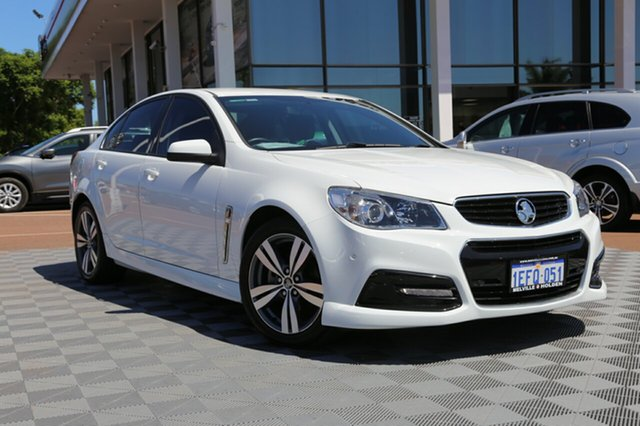 Used Holden Commodore VF MY14 SV6, 2013 Holden Commodore VF MY14 SV6 White 6 Speed Sports Automatic Sedan