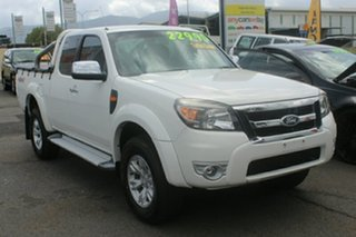 2010 Ford Ranger PK XLT Super Cab White 5 Speed Automatic Utility.