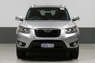 2011 Hyundai Santa Fe CM MY12 Elite CRDi (4x4) Grey 6 Speed Automatic Wagon.