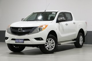 2014 Mazda BT-50 MY13 GT (4x4) White 6 Speed Manual Dual Cab Utility.