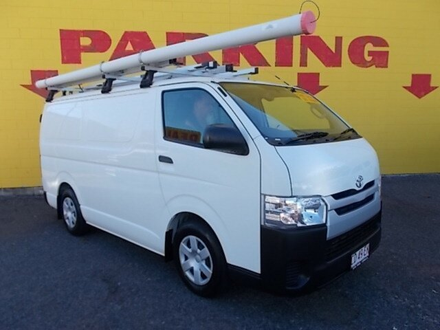 Used Toyota HiAce KDH201R LWB, 2015 Toyota Hiace KDH201R LWB White 4 Speed Automatic Van