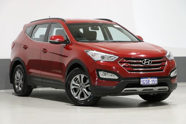 Used Hyundai Santa Fe DM MY15 Active CRDi (4x4), 2015 Hyundai Santa Fe DM MY15 Active CRDi (4x4) Red 6 Speed Automatic Wagon