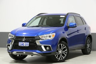 2018 Mitsubishi ASX XC MY18 LS (2WD) Blue Continuous Variable Wagon.